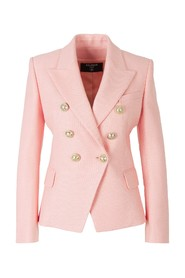 Double-breasted Blazer Gold Buttons