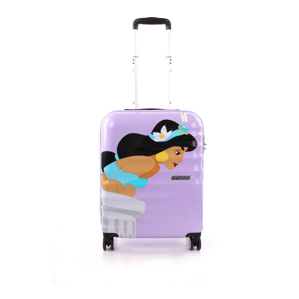 By hand suitcase