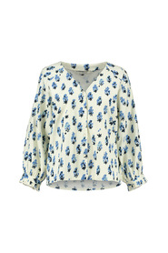 sp6482 print blouse blueberrie