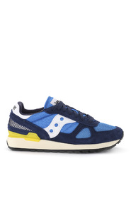Shadow Vintage blue suede and light-blue fabric sneaker