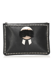 Karlito Leather Clutch Bag