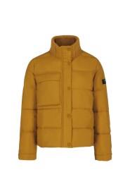 Tao High Collar Short Down Jacket