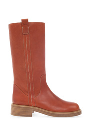 Edith leather knee-high boots