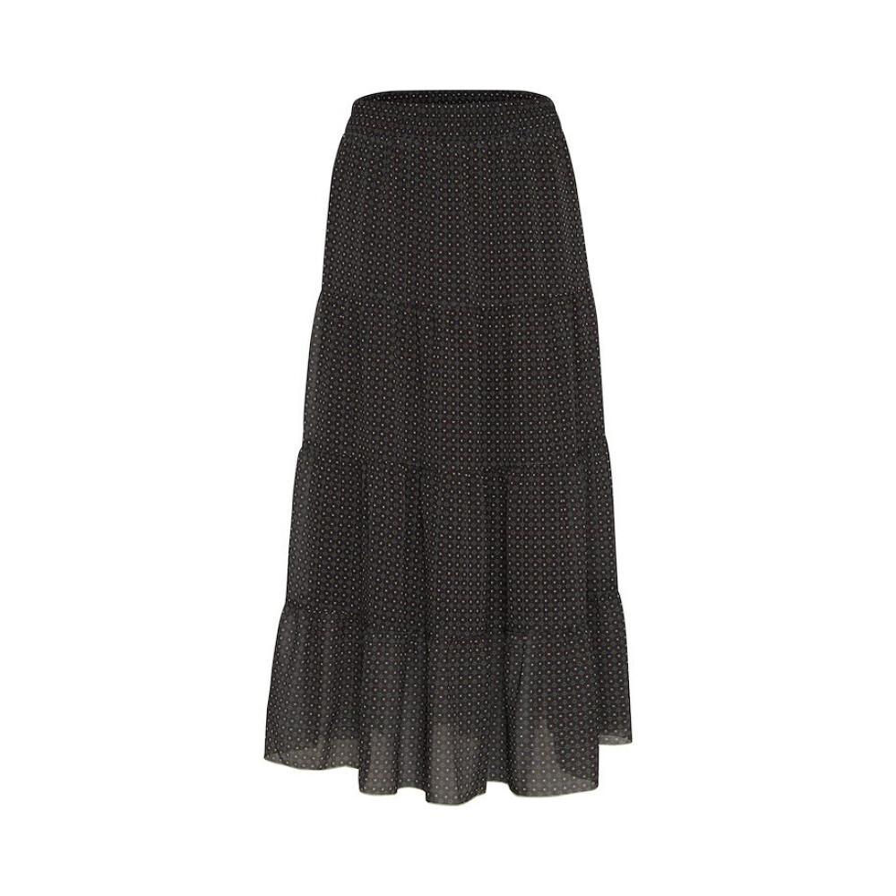 black High Waist Wide Skirt 34557-7284  Gustav  Maxikjolar