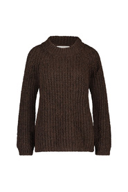 Milly chunky pullover mohair