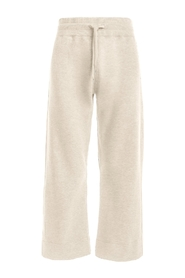 Trousers Wide Cropped Sweatpant