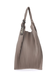 Picasso shoulder bag in pleated leather