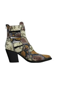 Guadalupe Grey Wine Snake Boots