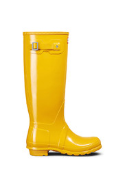 HUNTER GUL HUNTER STØVEL ORIGINAL TALL GLOSS YELLOW