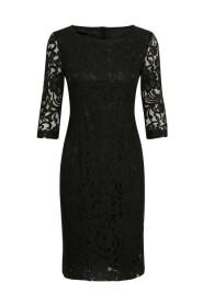 sort inwear patrice kjole