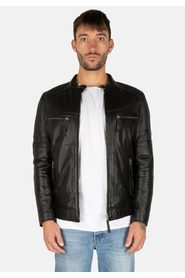 MYSTERY MOON LEATHER JACKET
