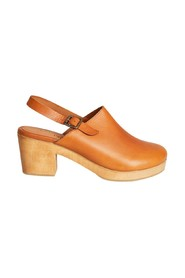 Zagreb leather clogs shoes