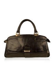 Leather Tote Handbag Top Handles Bag