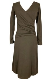 Darfo Dress 9298 n - Dress with draping