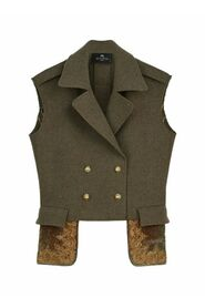 LUCILLE DOUBLE BREASTED GILET