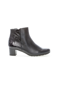 ankle boot leather combi