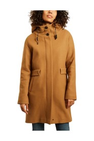 Aurillac hooded coat