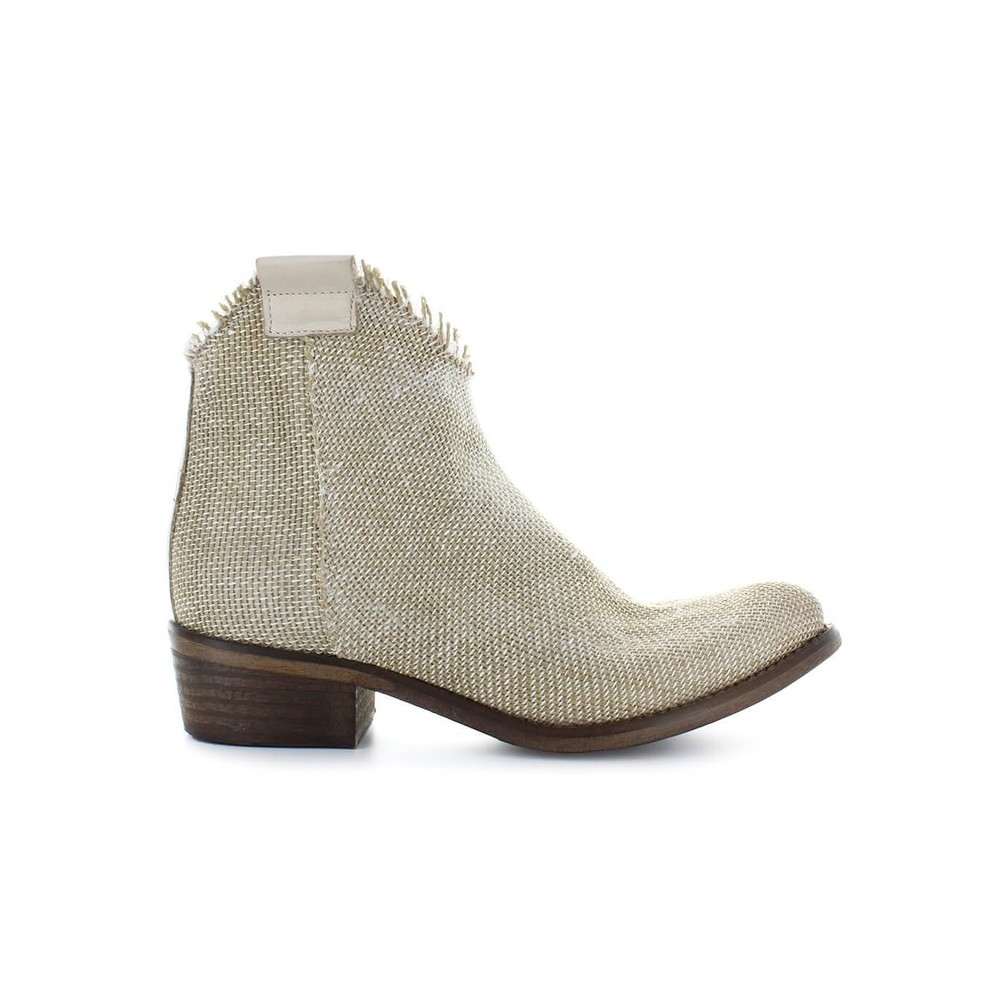 CANVAS ANKLE BOOT