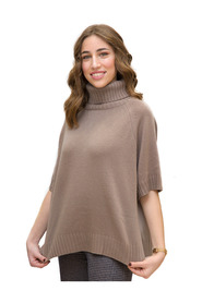 Sweater With Back Buttons