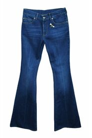 Flare  Jeans with Embroidery