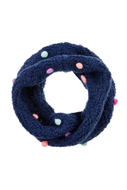 Pom Snood A L Kids Scarves