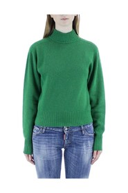 Roll-up sweater