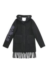 cappotto bambina in misto lana