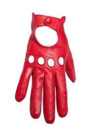 Kvinders læderhandske i læder