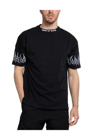 TSHIRT EMBROIDERED FLAME