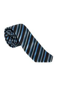 Svart/blått stripete Pascal slips