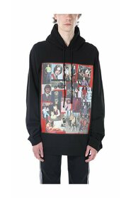 Red Frame Portraits Oversized Hoodie