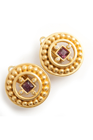 Royal Ruby earclips