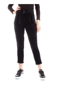 BLAUER 19WBLDP01393-005603 Pants Women BLACK