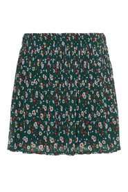 Skirt pleated floral print