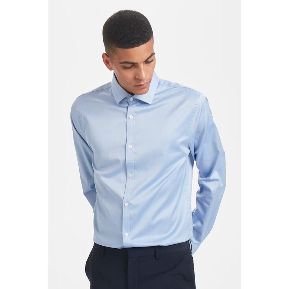 Chambray Blue Matiniek shirt, Trostol | Matinique | Zakelijke Overhemden | Herenkleding