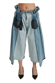 Asymmetriska Wide Leg Jeans