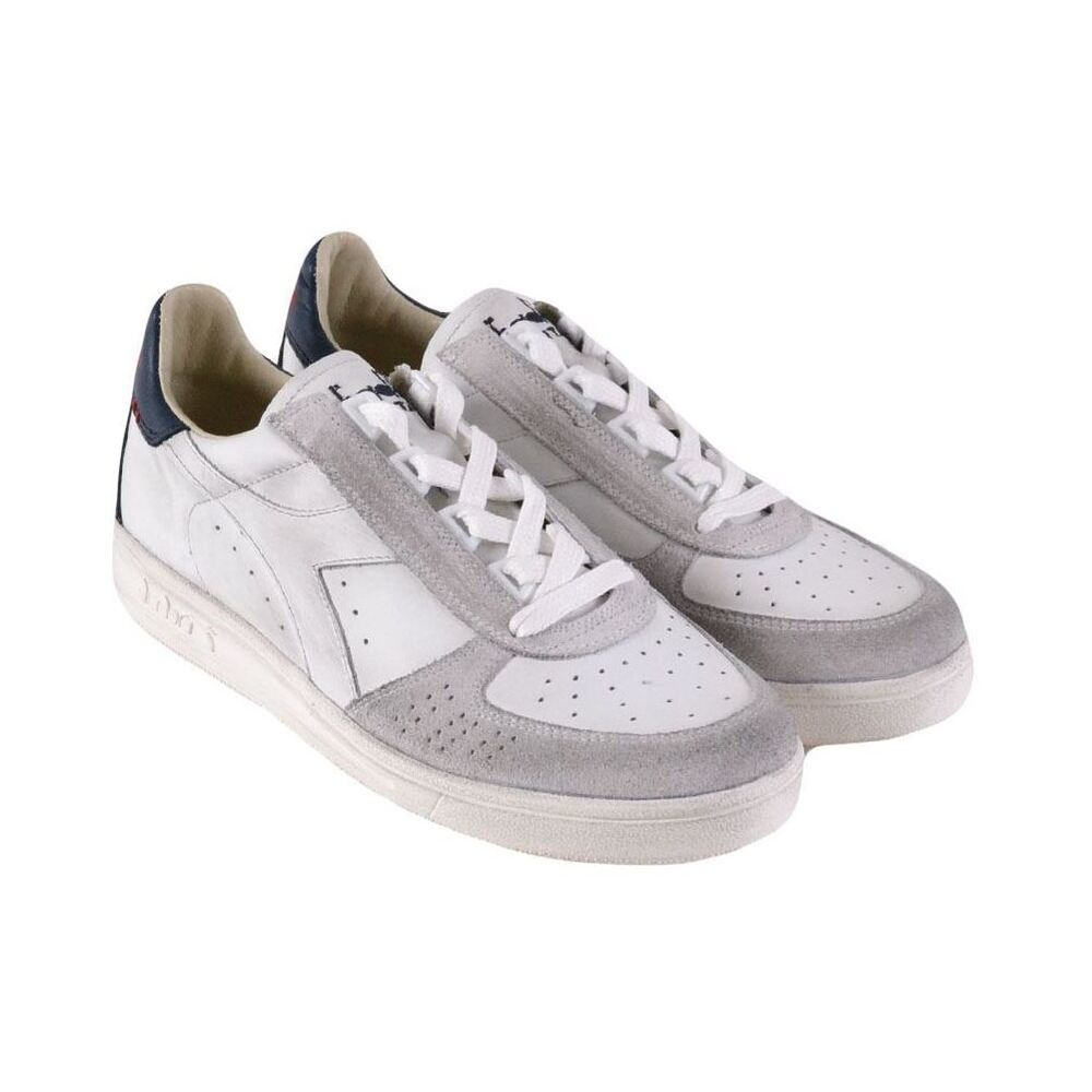 White Low Top Sneakers | Diadora | Sneakers | Herrenschuhe