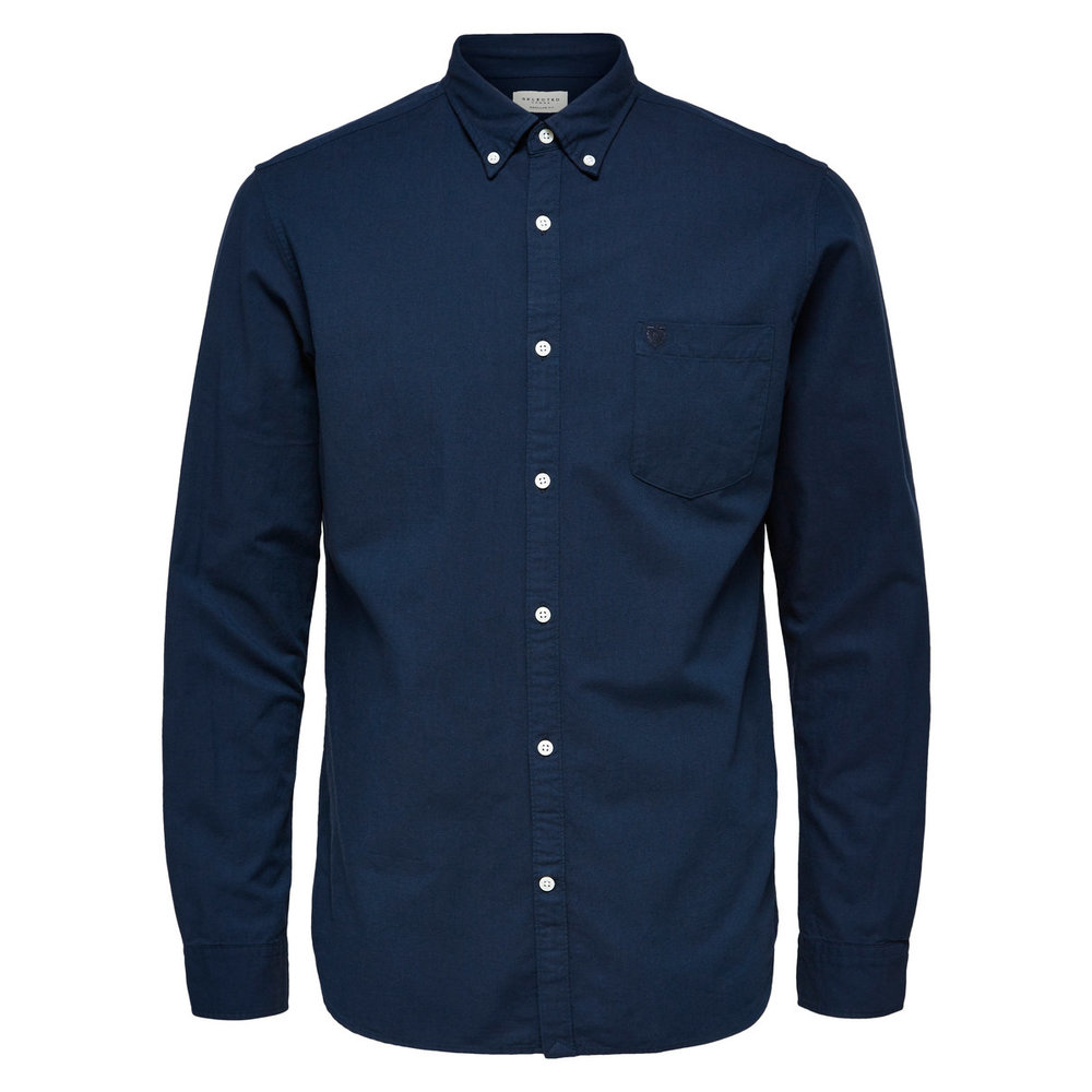 Long sleeved shirt Oxford