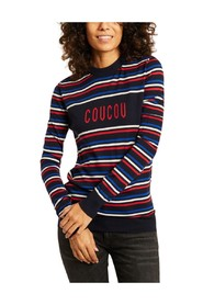 Coucou pullover designed by Claudia Schiffer