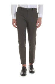 Fabric stretch trousers 19097 21