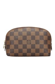 Damier Ebene Cosmetic Pouch Canvas