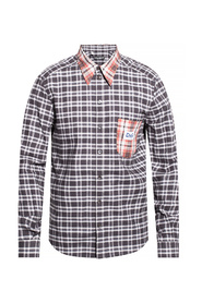 Patchwork shirt with DG patch