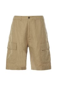 MW Cargo Shorts Linen-Cot Suiting