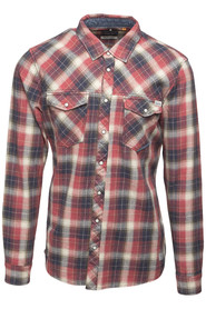 Blend 20703518 Skjorta Rust Red