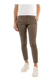 Perfect micro-check trousers