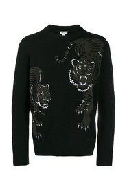 Tiger embroidery jumper