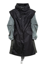 TWO-WAYS RAINPROOF PARKA