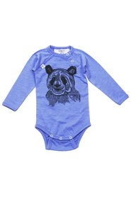 KNAST by KRUTTER - Body med panda - Dusty Blue