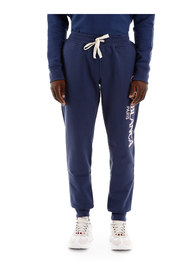 Logo embroidery sweatpants