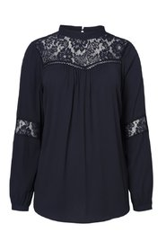 Long sleeved blouse Lace
